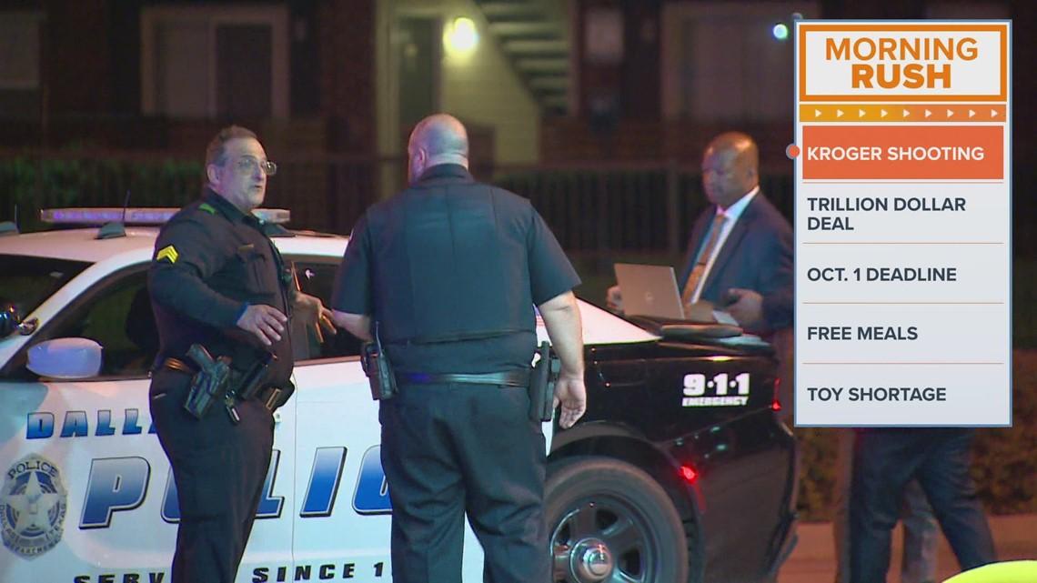 Man fires shots at off-duty officer outside Dallas Kroger