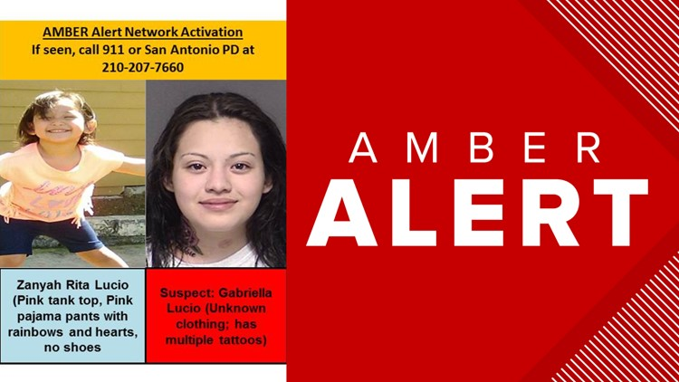 San Antonio police issue Amber Alert for missing 3-year-old