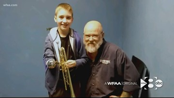 WFAA Orignal: After a 40-year career, repairman finds new joy modifying instruments for kids with physical disabilities