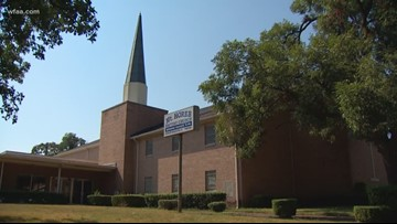 'They didn't leave anything': Thieves target another church in South Dallas
