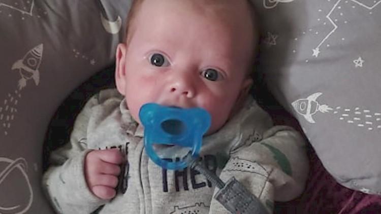 Oklahoma mom flies newborn son with RSV to Cook Children's