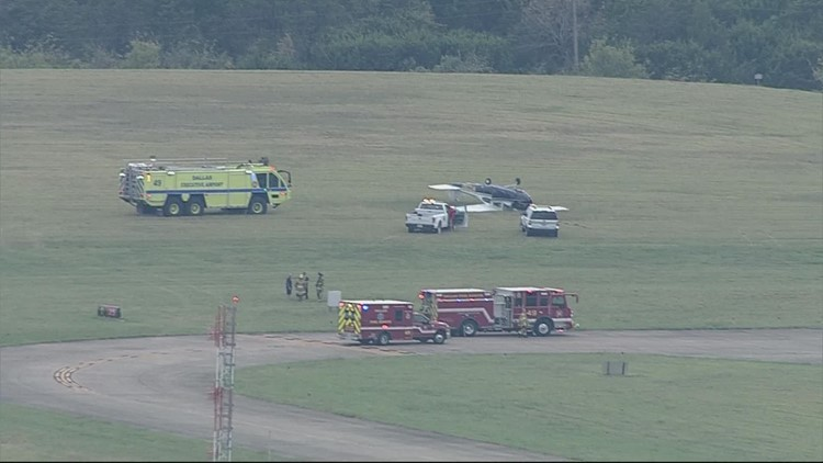 Plane down at Dallas Executive Airport