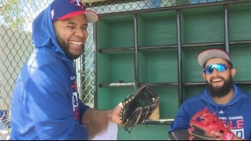 Day 1: Texas Rangers hold first team workout of Spring Training