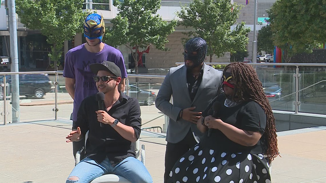 Cast and crew of Lucha Teotl give preview ahead of show opening in Dallas