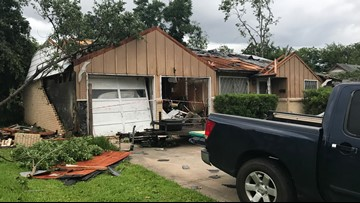 Three tornadoes hit North Texas Sunday, National Weather Service confirms
