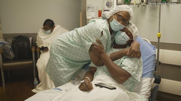 'God made her just for me': Navy veteran donates kidney to wife, strengthening bond of love