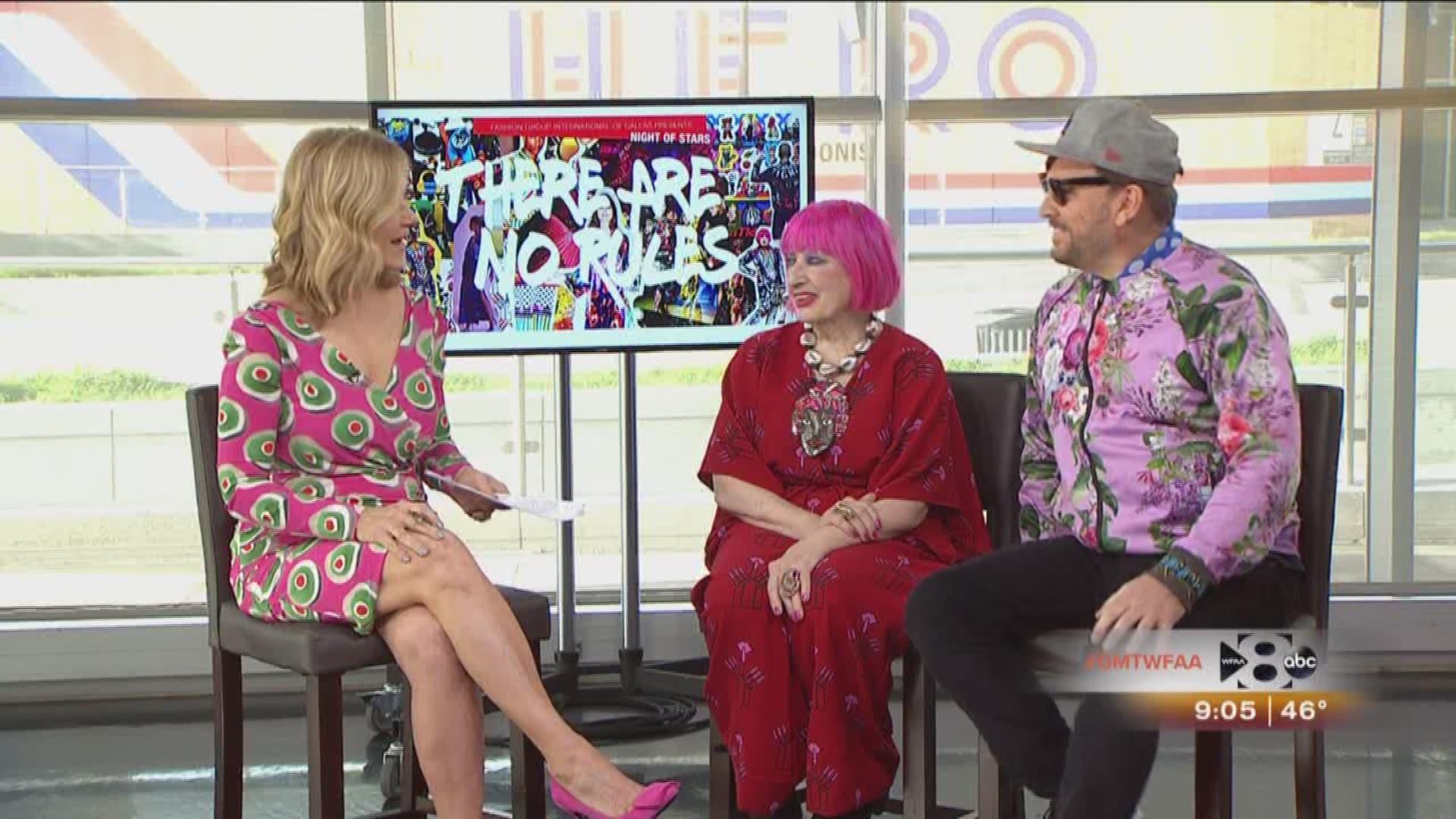 Fashion Designer Zandra Rhodes And Libertine Designer Johnson Hartig Wfaa Com