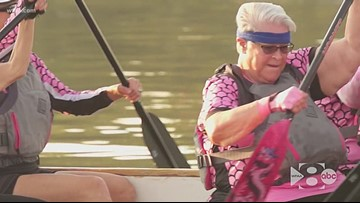They all faced breast cancer. Now, they row crew with each other