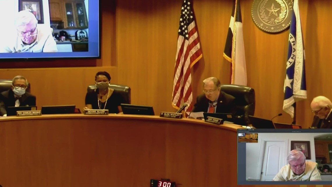 3 COVID-19 updates you should know from Tarrant County Commissioners' meeting