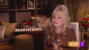 Alanna looks for country music icon Dolly Parton in Dollywood