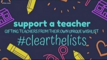 Texas teachers grateful to strangers buying them school supplies in viral  'Clear the Lists' Amazon campaign