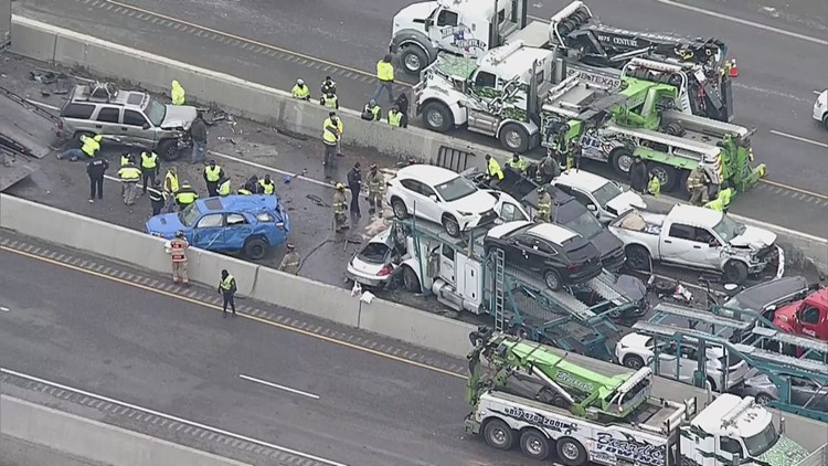 Here's what we know about Thursday's massive pileup in Fort Worth