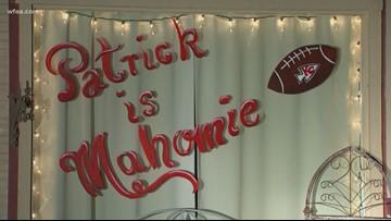 Mahomes mania grips Whitehouse, Texas