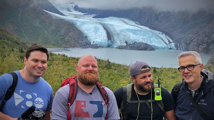 At Portage Glacier