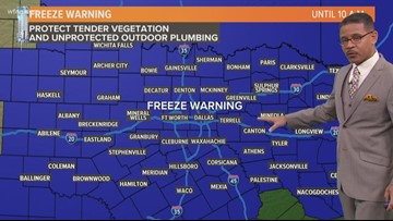 A spooky forecast: Freezing temps headed to North Texas just in time for Halloween