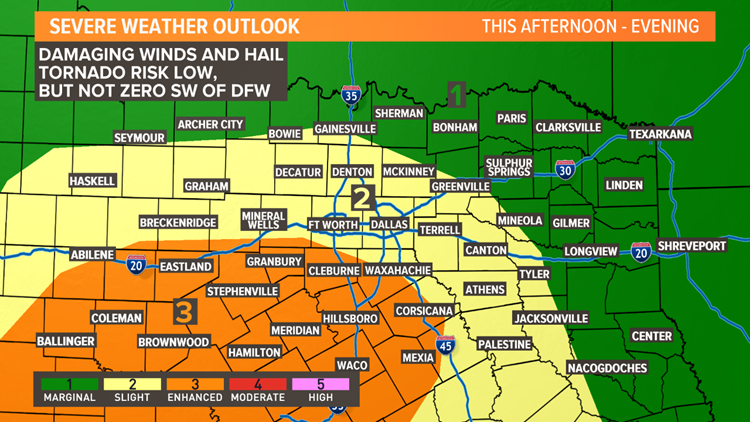 Father's Day storms: Severe weather threat over for DFW