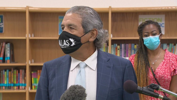 Dallas ISD superintendent Hinojosa says President Biden called to thank him for requiring masks