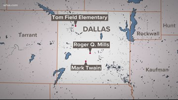 Changes planned for 3 Dallas schools