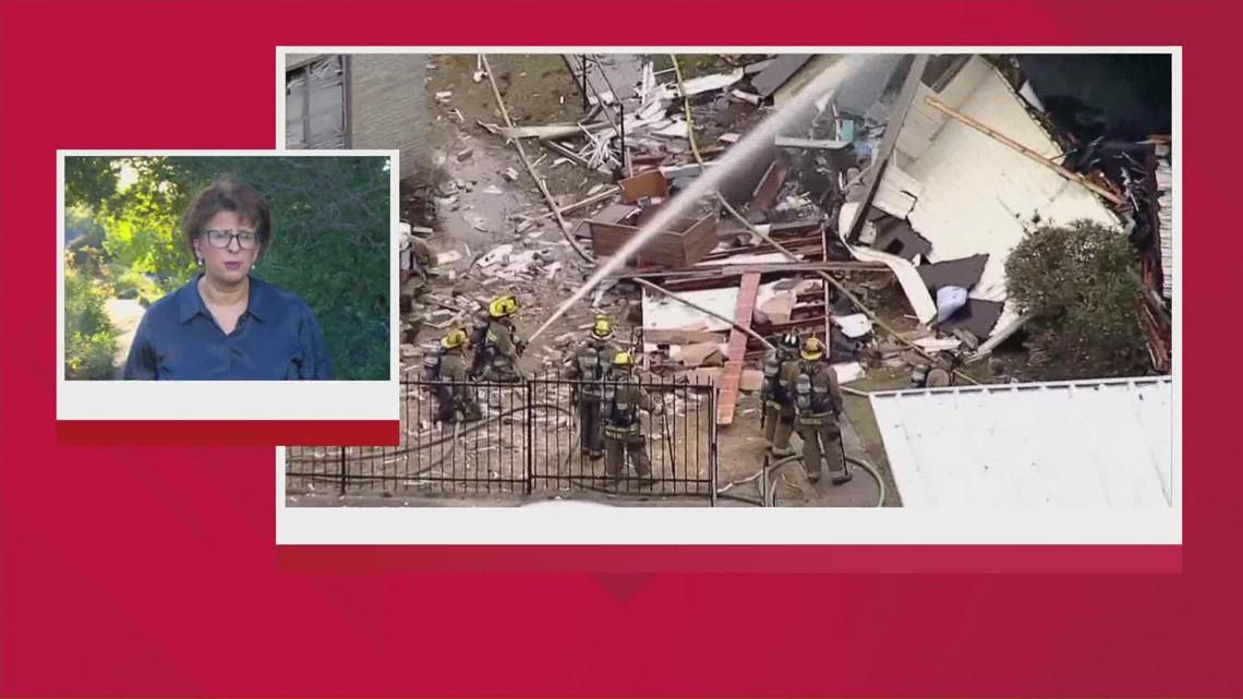 Police determine cause of Dallas apartment explosion