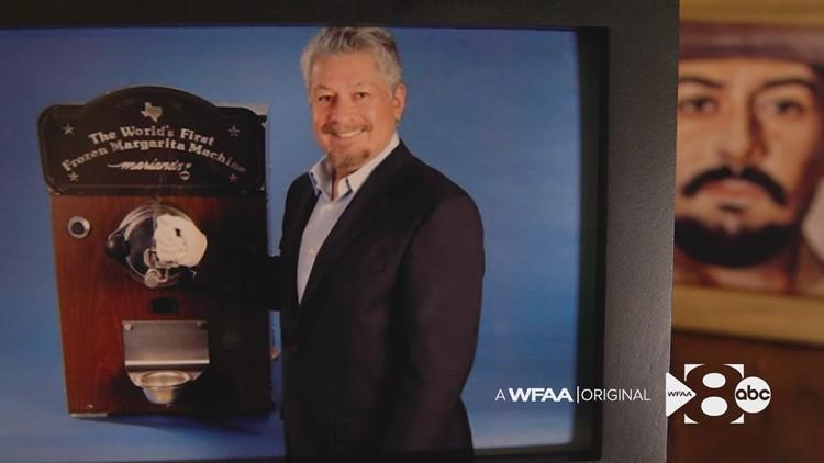 Meet the man who invented the first frozen margarita machine: North Texas native Mariano Martinez