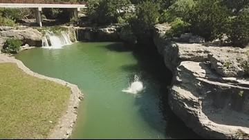 Dip trip: Tonkawa Falls