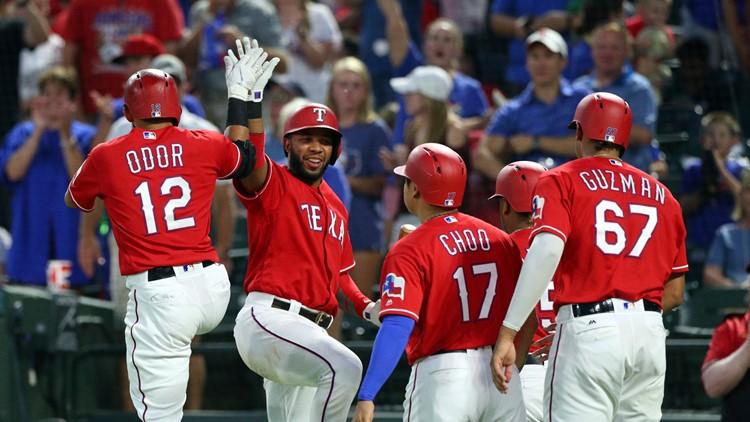 Orioles Rangers Baseball
