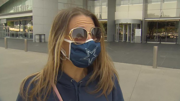 As Cowboys take on Bucs in Tampa, AT&T Stadium hosts fans
