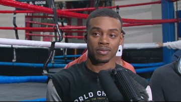 Boxer Errol Spence Jr. charged with DWI after crash, police say
