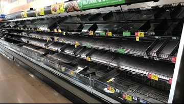Grocery stores saving perishables in refrigerated trailers during Dallas power outage