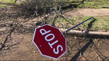 Clean-up begins after storms left trail of debris, damage in North Texas