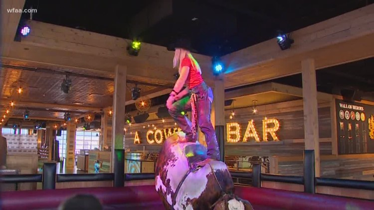 Rewind: That time Chris Sadeghi learned how to ride a mechanical bull