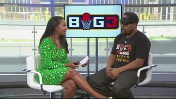 "Ice Cube brings his ""Big 3"" Basketball back to Dallas"