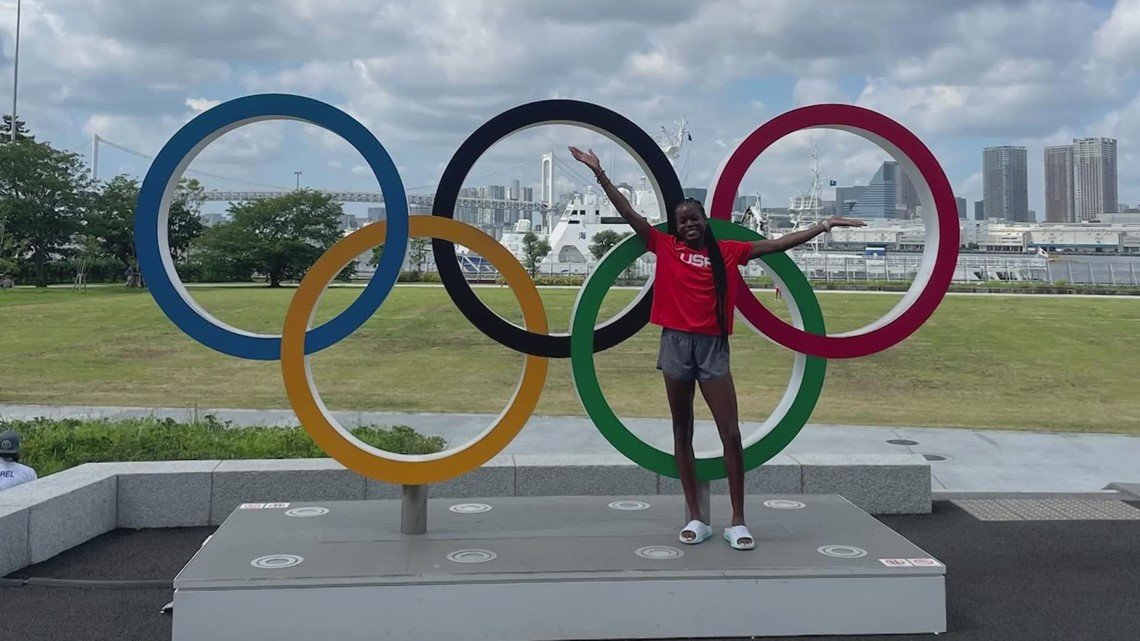Mansfield's Jasmine Moore is home from Tokyo, and her eyes are already set on Paris 2024