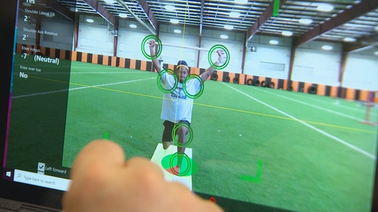 Predicting injuries? One North Texas school district brings in motion-sensing cameras to better athletes