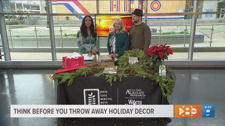 Think twice before throwing out your holiday decorations, food