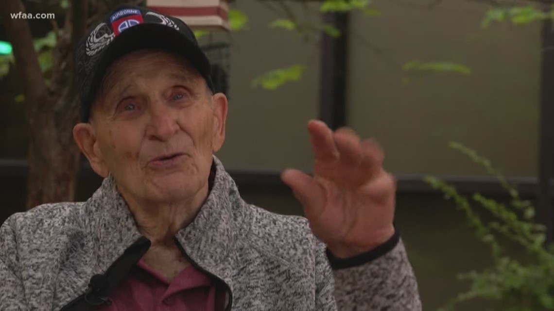 Dallas WWII veteran to return to Normandy