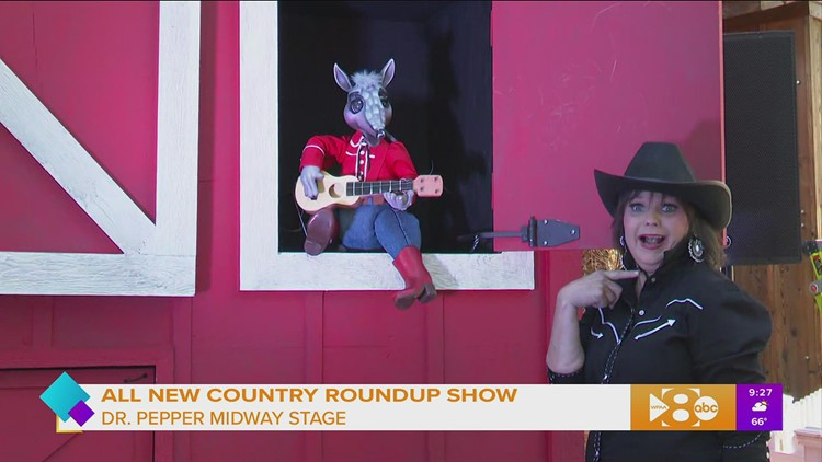 The all new Country Roundup at the State Fair of Texas