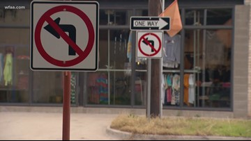 Six months after Fort Worth street goes one-way, drivers still can't figure it out