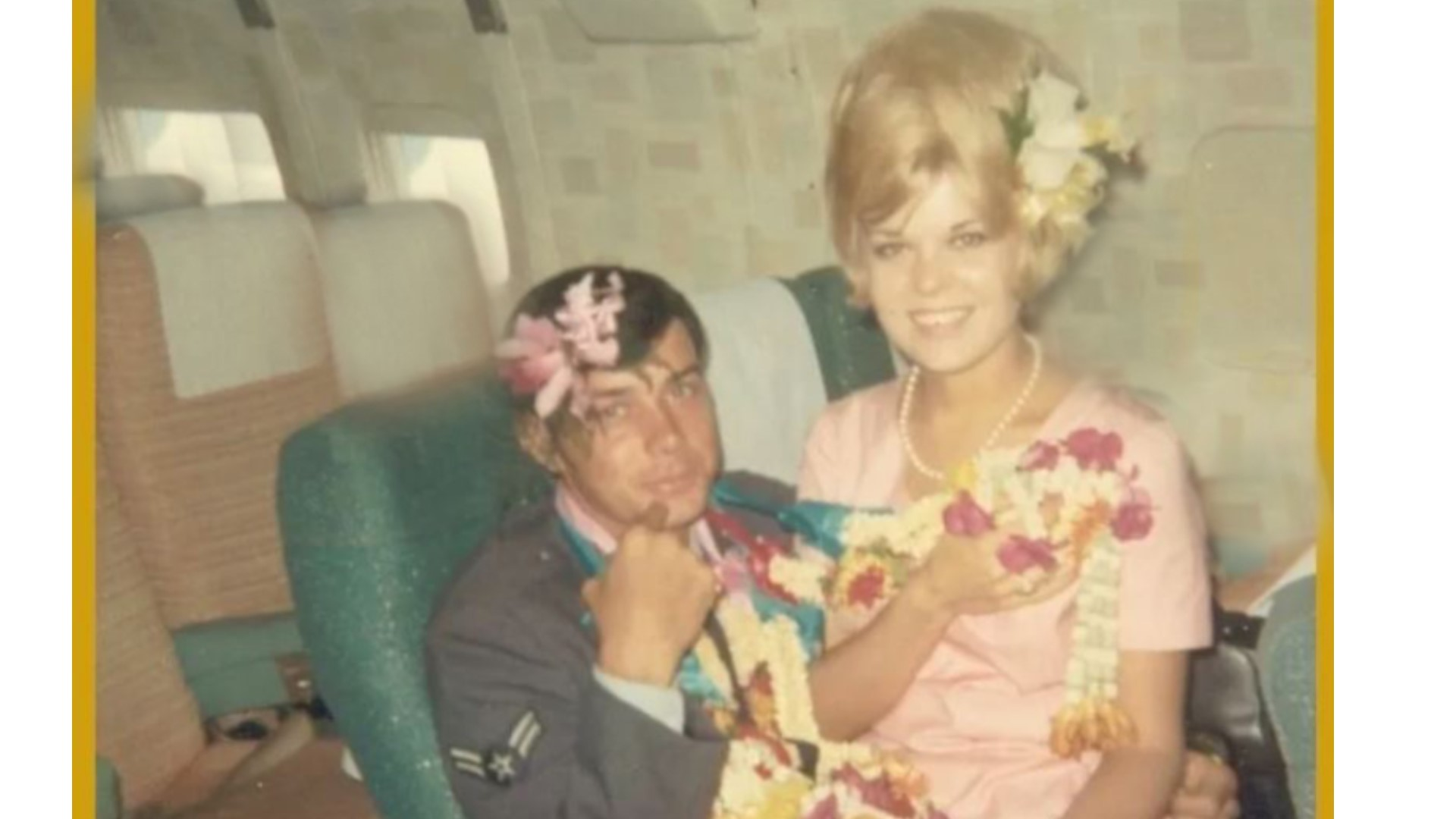 Vietnam Veteran And Air Hostess Reunite 52 Years After Memorable Photo Wfaa Com