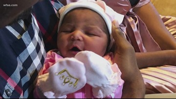 Baby born as tornado tore through Rowlett Sunday night