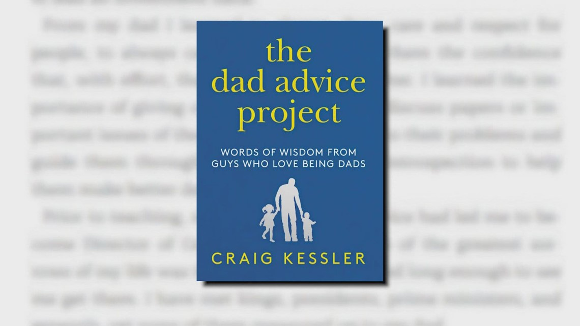 Topgolf executive pens book of real-life stories, dad advice from dozens of fathers