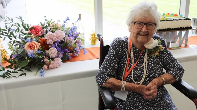 'Oldest-living' University of Texas at Dallas alumna celebrates turning 100 years old