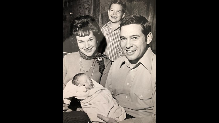 Bonnie West and family