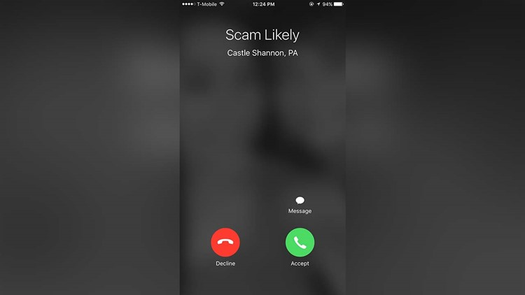 949 area code scam text