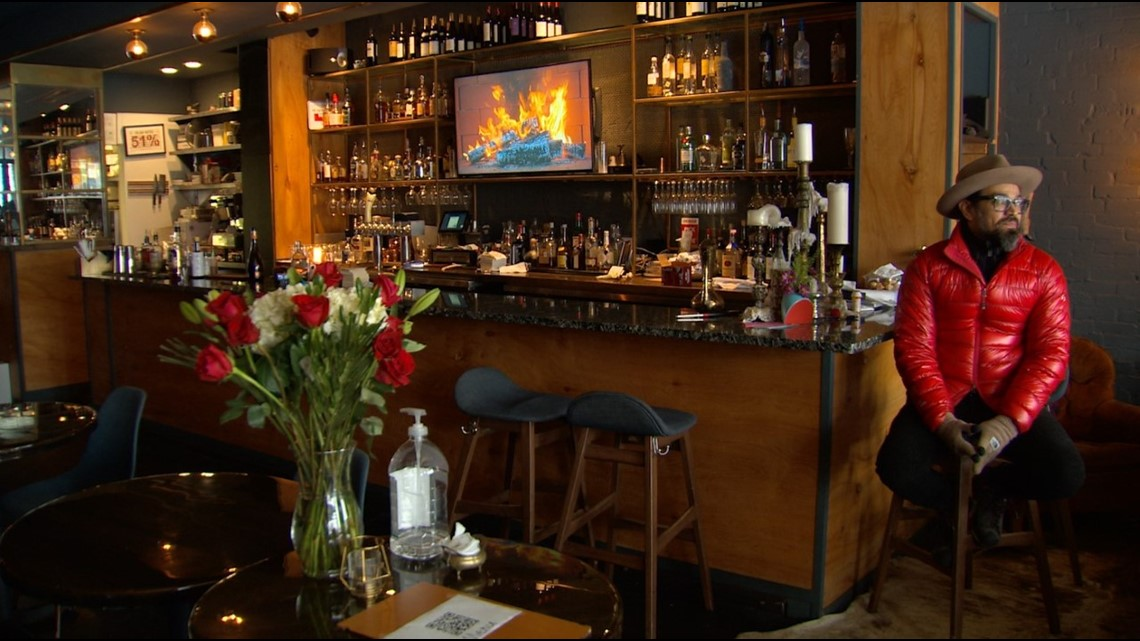 Heartbreaking day for hundreds of North Texas bars, restaurants forced to close due to Valentine's Day snowstorm