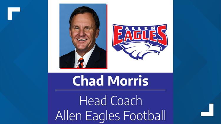 Allen Eagles hire Chad Morris as new head football coach