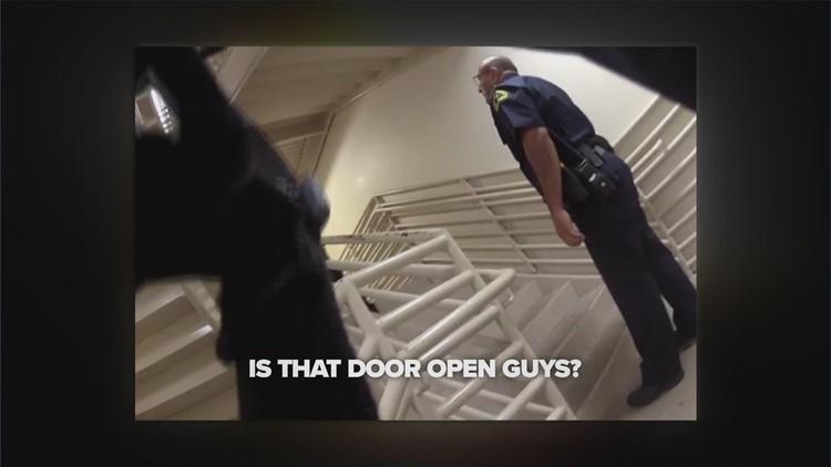 The Heroes' Perspective: Officers pursue Dallas ambush gunman