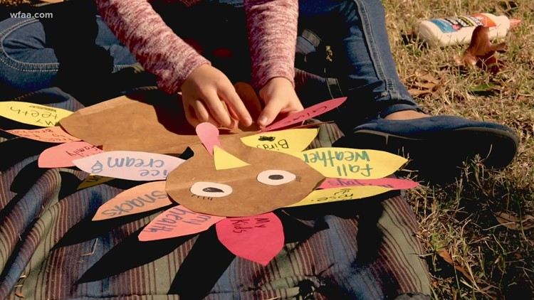 What are you thankful for? Finding fun ways to share positivity ahead of the holiday