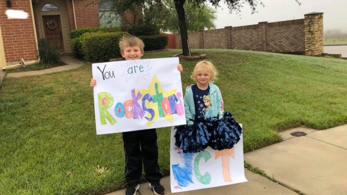 'Teacher Parades' make their way through North Texas neighborhoods