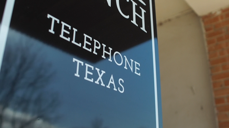 Telephone: A strangely named Texas town without... telephones